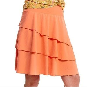 Matilda Jane Tiered Ruffle Skirt Sherbet Large